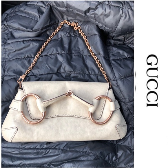 d0be935fc6e Gucci Handbags - Gucci vintage horsebit chain shoulder bag  clutch